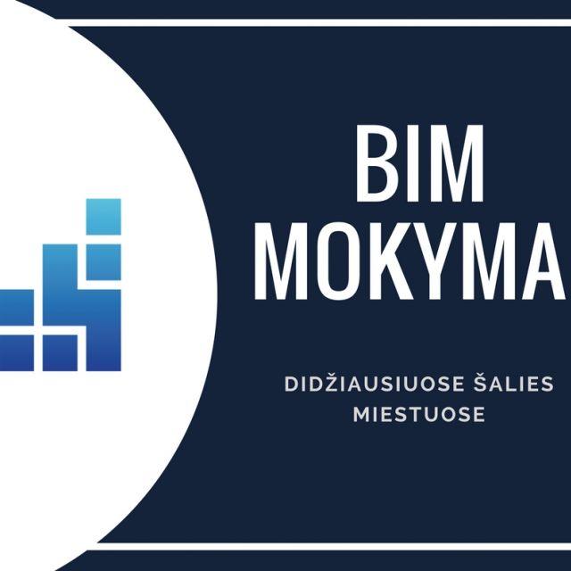 """Kvalifikacijos kėlimo mokymai """"Statinio informacijos modeliavimas BIM"""""""