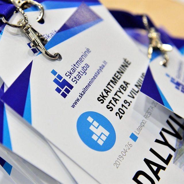 """Konferencija """"Skaitmeninė statyba 2019. Vilnius"""""""