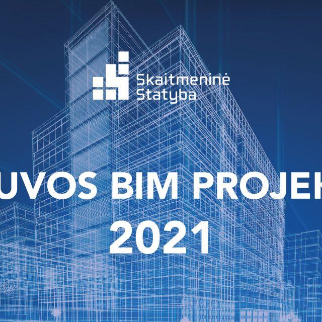 Lietuvos BIM projektai 2021